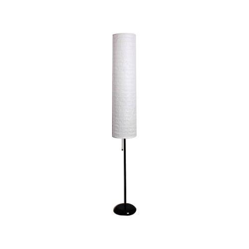 "Mainstays 58"" Rice Paper Shade Floor Lamp, Black Finish"