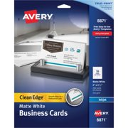 Inkjet Two Side Printable Premium Clean Edge Business Cards