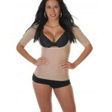 T-shape Cami Shaper Arm Slimmer Shapewear - Short Sleeve