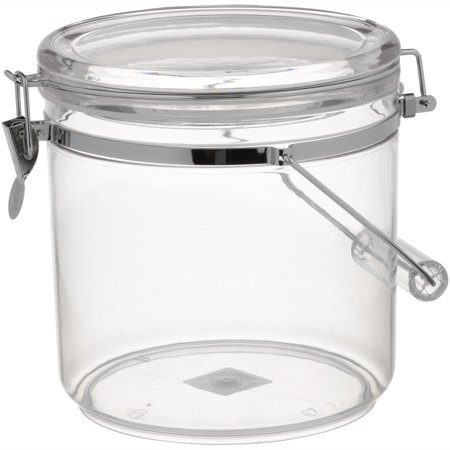 Mainstays Latching Jar, Large (Round Decorative Jar)