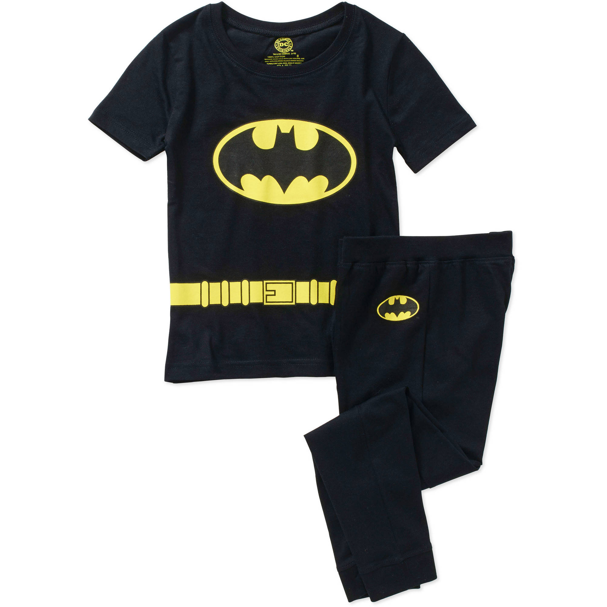 DC Comics Batman Tight Fit Costume Boys' Sleep Set