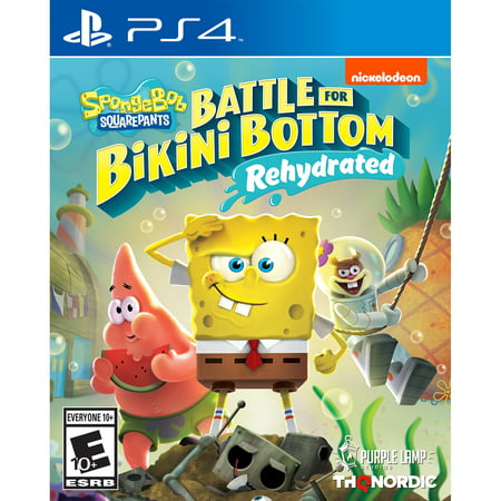 Spongebob Squarepants: Battle for Bikini Bottom Rehydrated, THQ Nordic, PS4, 811994022158