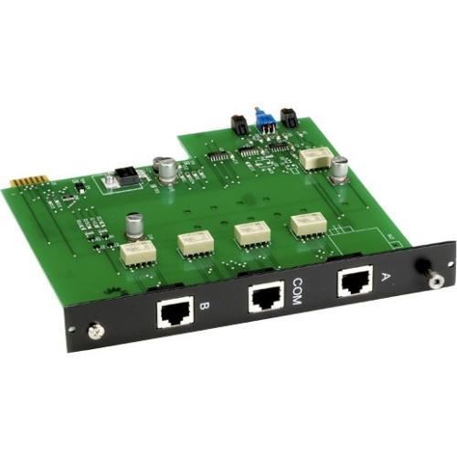Black Box Pro Switching System Plus A/B Switch Card, RJ-4...