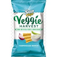SunChips Veggie Harvest Farmhouse Ranch Veggie & Whole Grain Snacks 3 oz. Bag