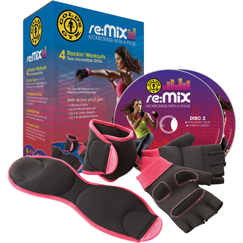 Gold's Gym Re:Mix Kickboxing DVD