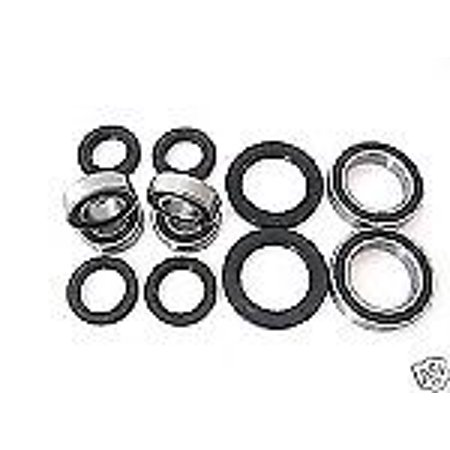 Combo-Pack! Front Wheel and Rear Axle Bearings and Seals