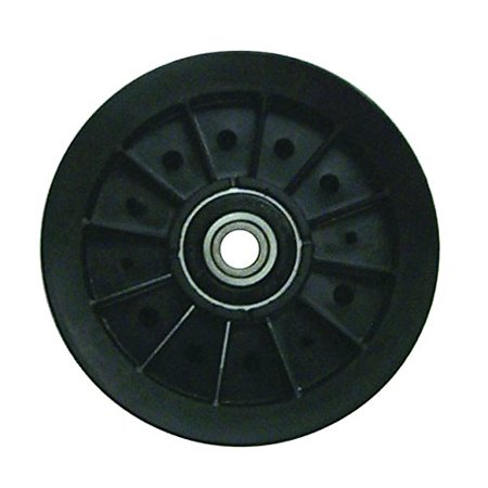 Prime Line 7-05340 Flat Idler Pulley with Flange Replacement for Model Murray 91801