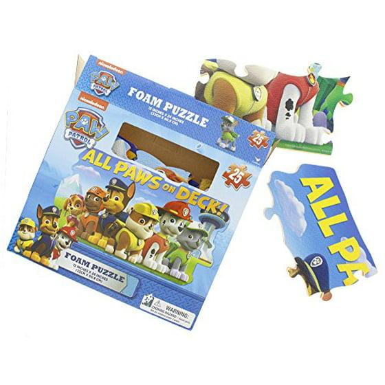 97fafdbb Paw Patrol Foam 25 Piece Floor Puzzle by Cardinal
