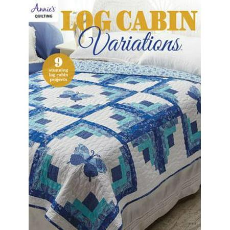 Log Cabin Variations - eBook