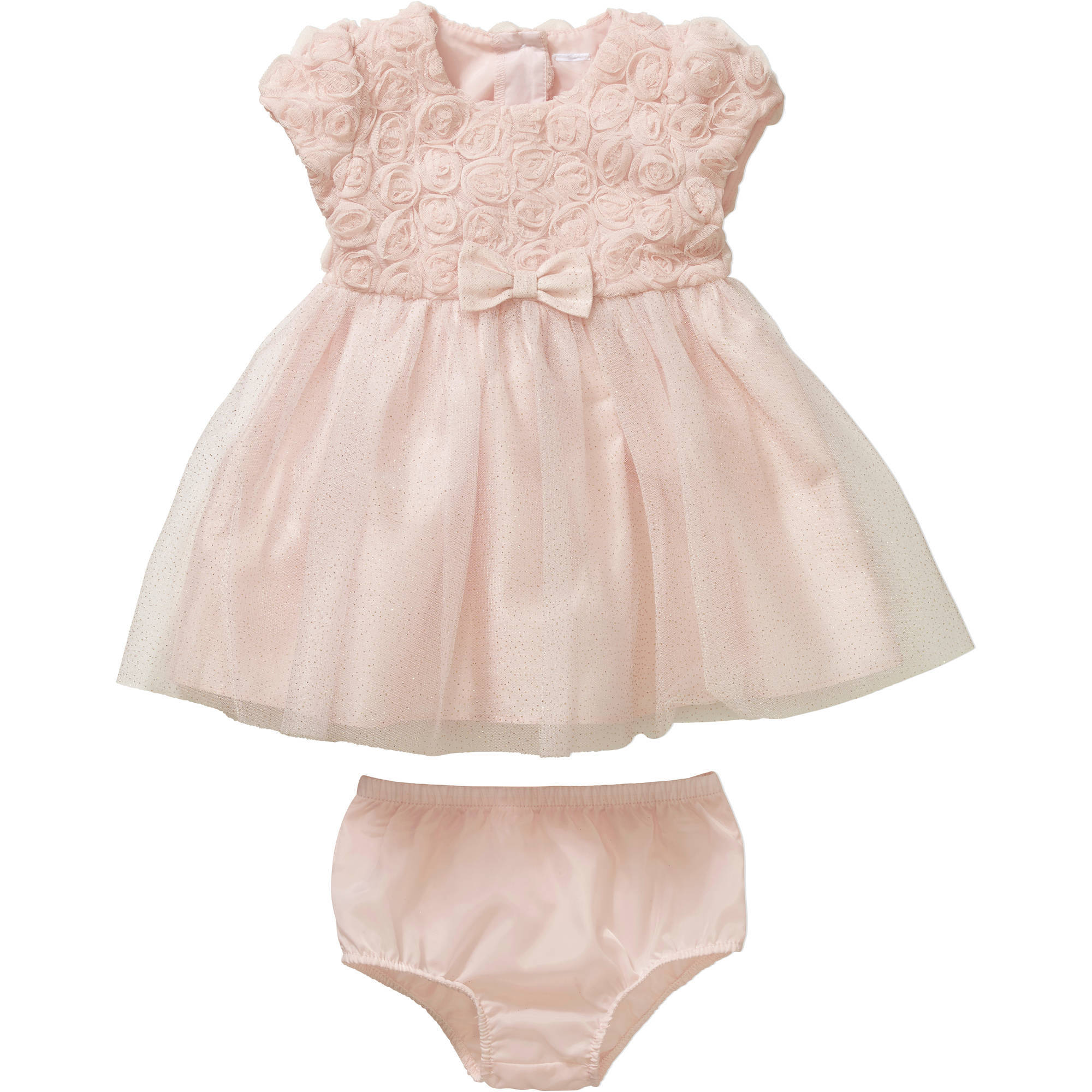 George Newborn Baby Girls' Soutache Ballerina Holiday or Special Occasion Dress