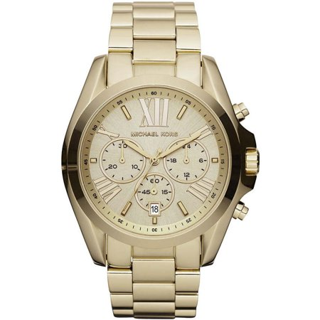 Michael Kors Women's Bradshaw Chronograph Gold Stainless Steel Watch MK5605 ()