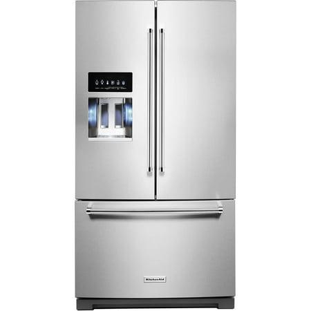 KitchenAid KRFF507HPS 26.8 Cu. Ft. Stainless French Door Refrigerator