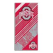 Ohio State Buckeyes NCAA Fiber Reactive Beach Towel (Home Series) (28in x 58in)