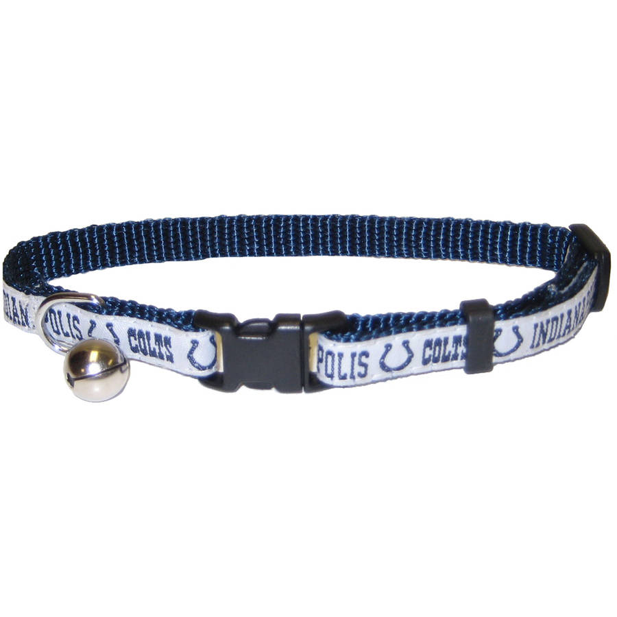 Pets First Nfl Indianapolis Colts Cat Collar