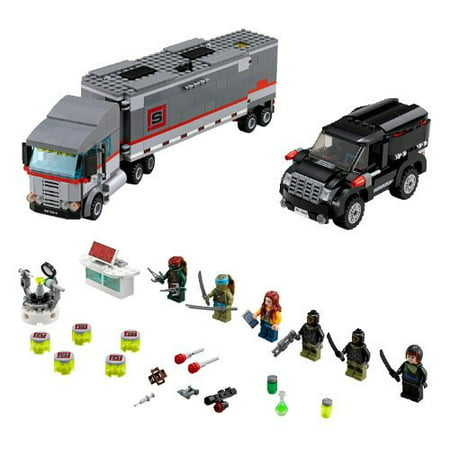 LEGO® Teenage Mutant Ninja Turtles® TMNT Big Rig Snow Getaway | 79116 - Snow Ninja Gay