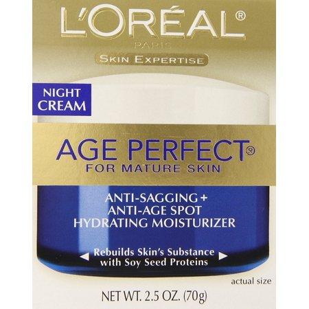 L'Oreal Paris Age Perfect Night Cream, 2.5 oz.