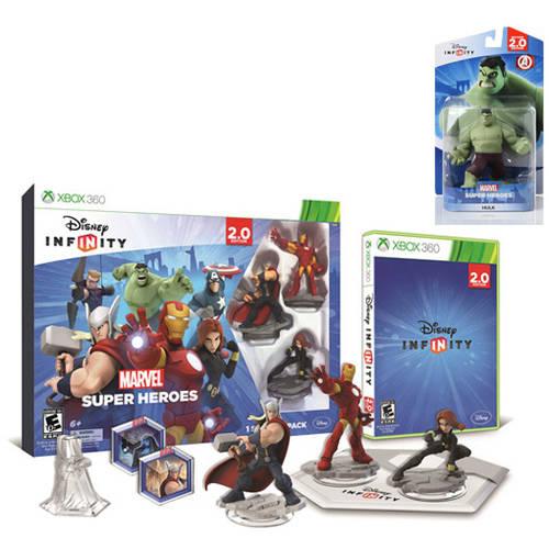 Disney Infinity: Marvel Super Heroes (2.0 Edition) Starter Pack with Bonus Figure