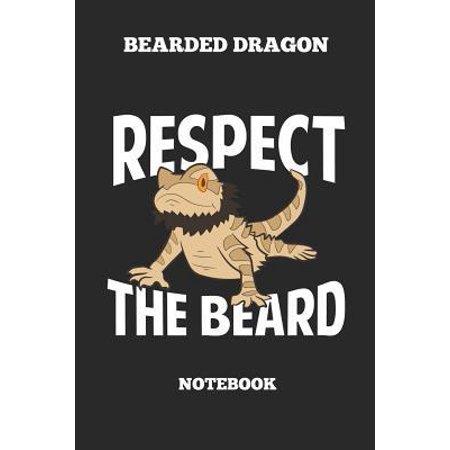 Halloween Ideas For Bearded Guys (Bearded Dragon Respect The Beard Notebook: Great Gift Idea Bearded Dragon Lover (6x9 - 110 Pages Blank))