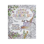 The Book of Friendship Coloring Art (Paperback)