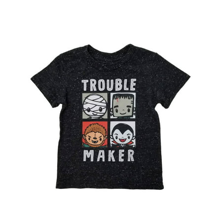 Universal Studios Monsters Infant & Toddler Boys Black Halloween T-Shirt - Halloween Universal Studios Singapore