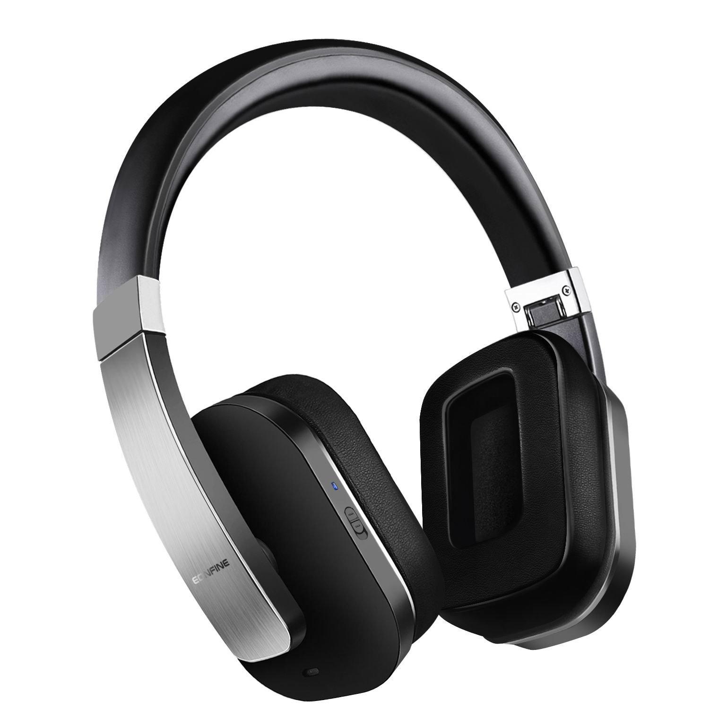 EONFINE Active Noise Cancelling Headphones Wireless Bluet...