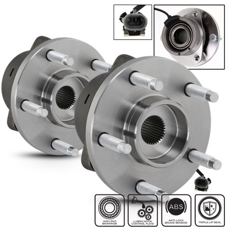 - Fit of 2 Front Wheel Hub ABS Bearings For Chevy Cobalt HHR Pontiac G5 Saturn Ion