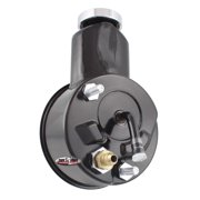 Tuff Stuff Performance 6197B Saginaw Style Power Steering Pump; Direct Fit; 5/8 in. Keyed Shaft; 3/8 in.-16 Mounting; Black;