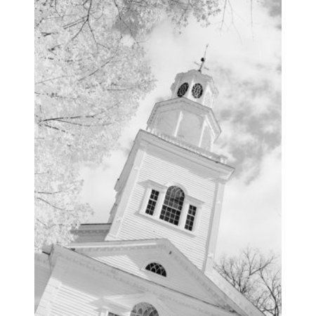 USA Vermont Bennington First Church Canvas Art -  (24 x 36)