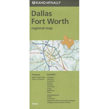 Folded map dallas/fort worth reg tx: 9780528009150 - Party City Fort Worth Tx