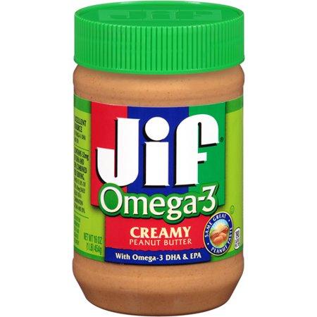 Jif Omega-3 Peanut Butter - 16oz