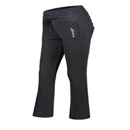 Athlete Womens Workout Pants  Charcoal