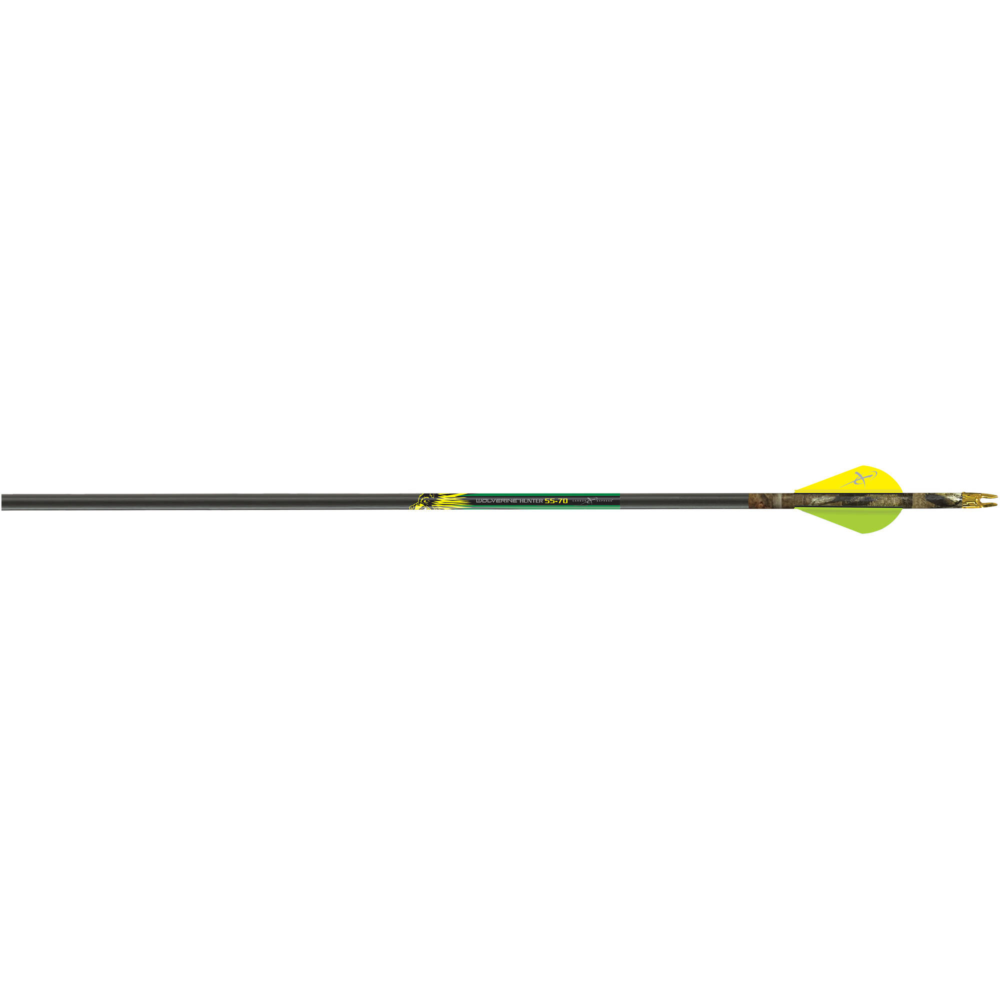 Carbon Express Wolverine Hunter 55-70 lb Draw Arrow, 30