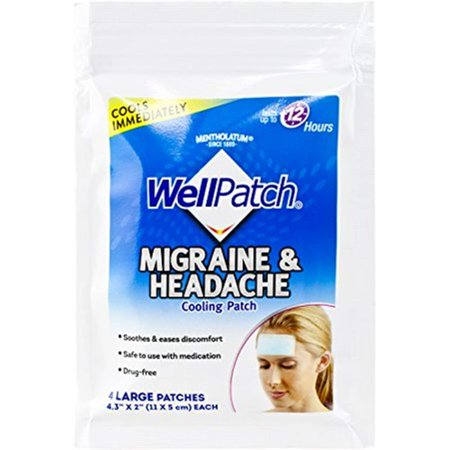 Cooling Headache Pads, Migraine 4 Pads in a Pack. (Pack of 6)= 24pads, Soothes the discomfort of migraine, tension and sinus headaches, and.., By (Difference Between Sinus Headache And Tension Headache)
