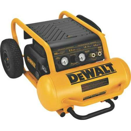 Dewalt 1.6 Hp Continuous 200 Psi, 4.5 Gallon Compressor