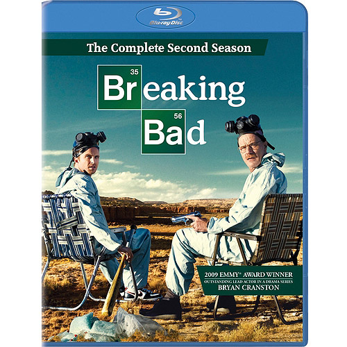 BREAKING BAD-2ND SEASON (BLU-RAY/3 DISC/WS 1.78/DD 5.1)