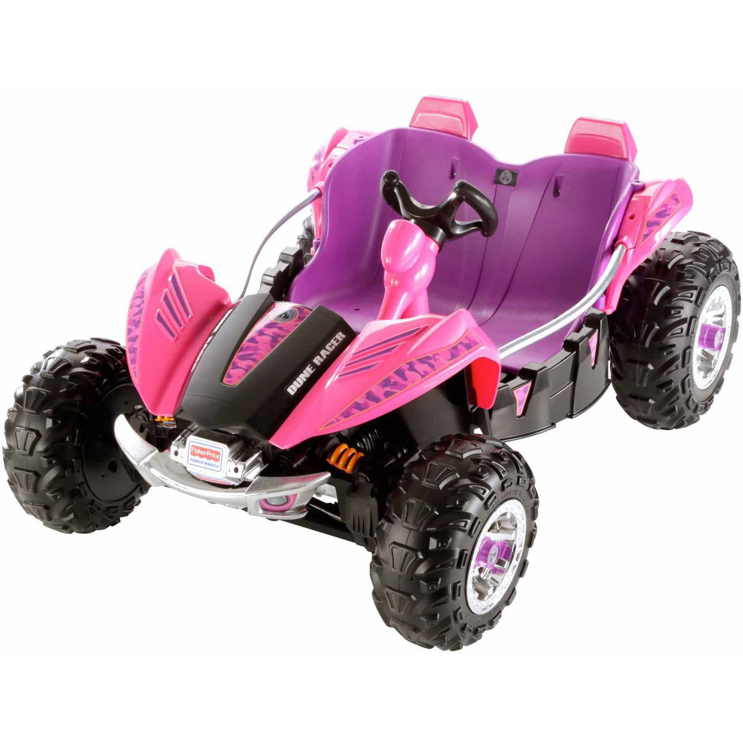 Fisher-Price Power Wheels Dune Racer 12-Volt Battery-Powered Ride-On, Pink