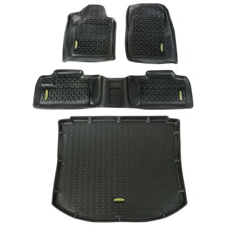 Outland Automotive Floor Liners Kit Black 11 16 Jeep