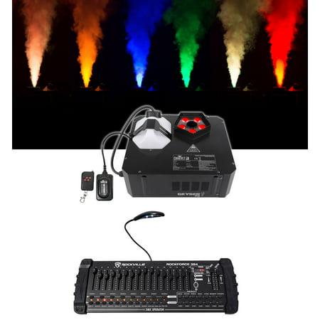 Chauvet DJ GEYSER P5 Fog Machine Fogger, RGBA+UV LED+384 Ch DMX Controller Chauvet Lighting Fog Machine