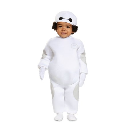 Big Hero 6 Baby Baymax Classic Infant Halloween Costume](Baby Makeup For Halloween Costume)
