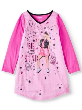 Jojo Siwa Girl's Long Sleeve Pajama Nightgown (Little Girls & Big Girls)