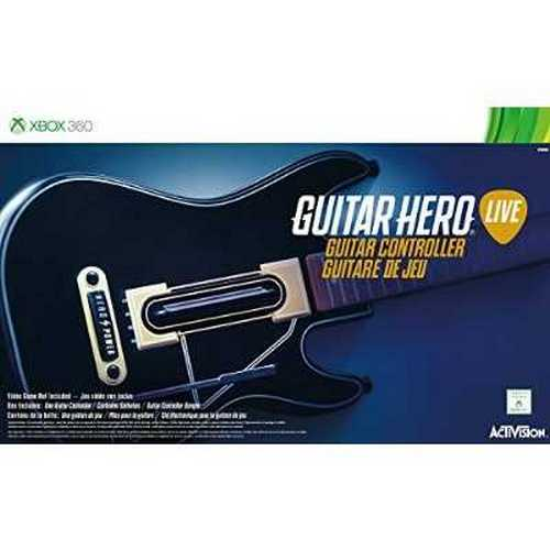 Guitar Hero Live Guitar Controller, Xbox 360, No Game Included