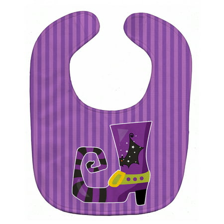 Halloween Witch's Shoe Baby Bib - Witchy Shoes