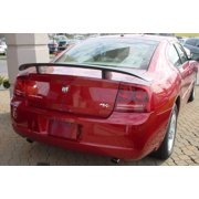 JSP Rear Wing Spoiler Compatible with 2006-2010 Dodge Charger Factory Style Primed 388023