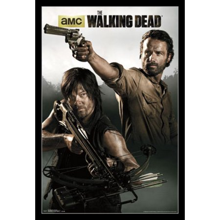 Walking Dead - Rick & Daryl Poster - Walking Dead Decorations
