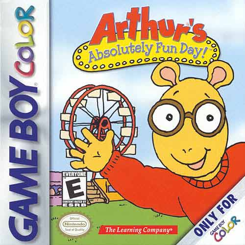 Arthur's Absolutely Fun Day Game Boy Color