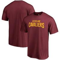 Cleveland Cavaliers Fanatics Branded Primary Wordmark T-Shirt - Wine