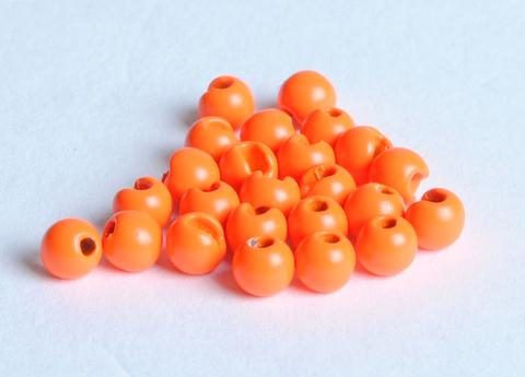 "TUNGSTEN SLOTTED FLY TYING BEADS HOT ORANGE 4.0 MM 5//32 /"" 100 COUNT"