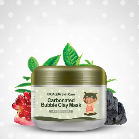 Carbonated Bubble Clay Mask Moist Deep Pore Cleansing Bubbles Mud (Best Deep Pore Cleansing Mask)