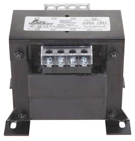 Acme Electric CE020500 Transformer, In 240/480, Out 25/12...