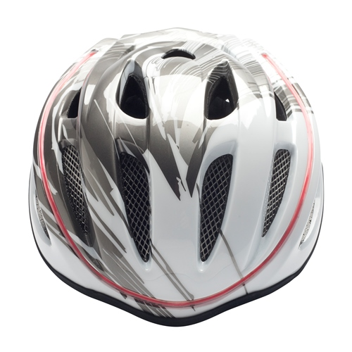 Mobo 360 LED Helmet, Grey with White S/M